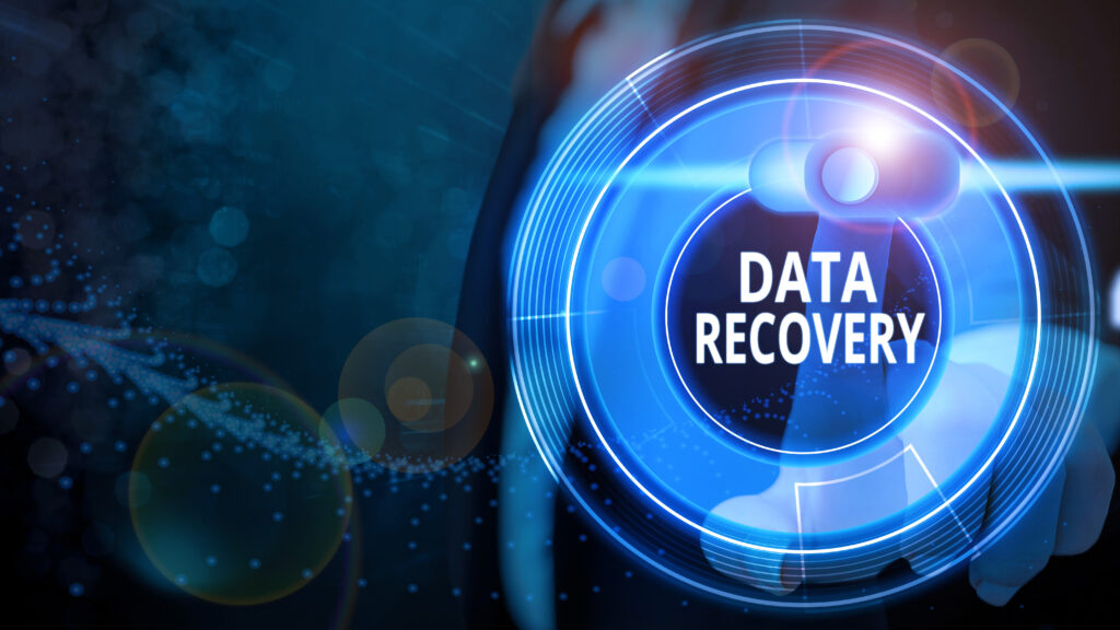 using data recovery